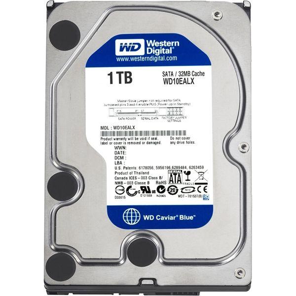 Western Digital WD Blue Hard Drive 1TB SATA 6 Gb/s